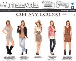 La vitrine de la mode