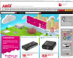 Page d'accueil de Abix