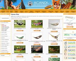 Page d'accueil de Acandi