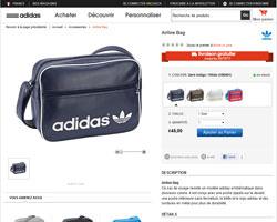 Une fiche produit de Adidas