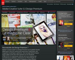 Une fiche produit de Adobe