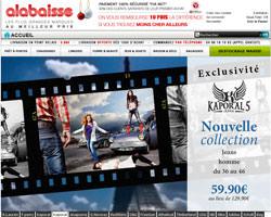 Page d'accueil de Alabaisse