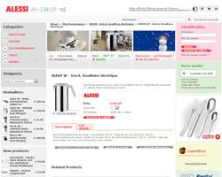 Une fiche produit de Alessi A-shop