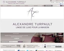 Page d'accueil de Alexandre Turpault