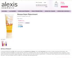 Une fiche produit de Alexis Cosmetic