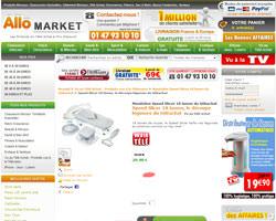 Une fiche produit de Allo Market