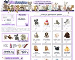 Page d'accueil de Allodoudou
