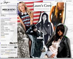 Page d'accueil de American Retro