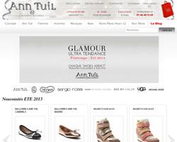 Page d'accueil de Ann Tuil