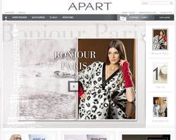 Page d'accueil de Apart Fashion