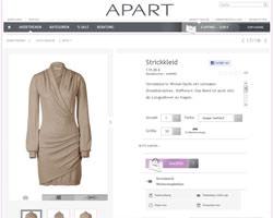 Une fiche produit de Apart Fashion