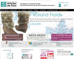 Page d'accueil de Articles de Paris