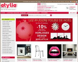 Page d'accueil de Atylia