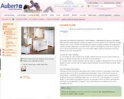 Une fiche produit de Aubert