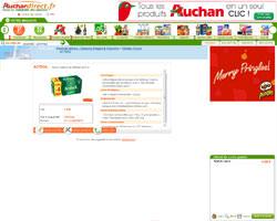 Une fiche produit de Auchan Direct