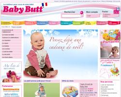 Page d'accueil de Baby Butt