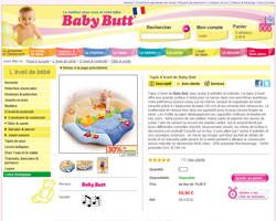 Une fiche produit de Baby Butt