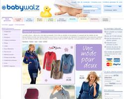 Page d'accueil de Baby-Walz