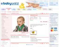 Une fiche produit de Baby-Walz