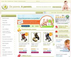 Page d'accueil de Bambino World
