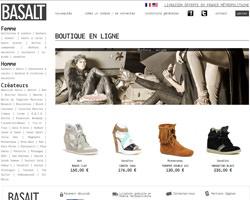 Page d'accueil de Basalt