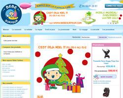 Page d'accueil de Bebe Surfeur