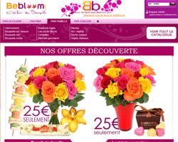 Page d'accueil de Bebloom