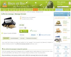 Une fiche produit de Bien et Bio