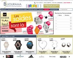 Page d'accueil de Bijourama