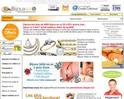 Page d'accueil de Bijoux-Or