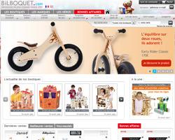 Page d'accueil de Bilboquet