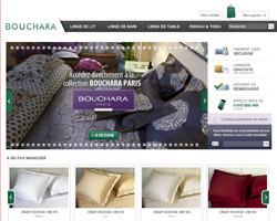 Page d'accueil de Bouchara