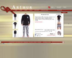 Une fiche produit de Boutique Arthur