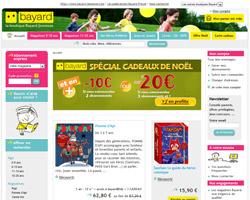Page d'accueil de Boutique bayard