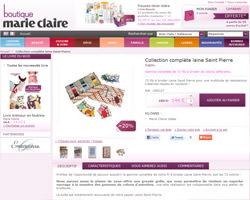 Une fiche produit de Boutique Marie-Claire