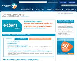 Une fiche produit de Bouygues Telecom