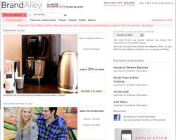 Page d'accueil de Brandalley