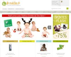 Page d'accueil de Brindilles