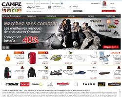 Page d'accueil de Campz