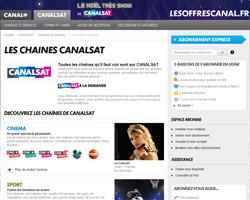 Une fiche produit de CanalSat