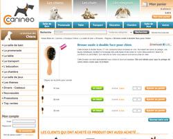 Une fiche produit de Canineo