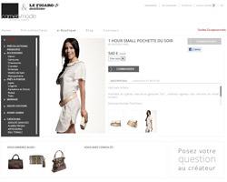Une fiche produit de Carnet de mode