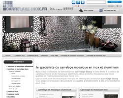 Page d'accueil de Carrelage-Inox