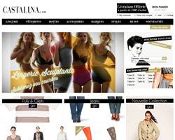 Page d'accueil de Castaluna