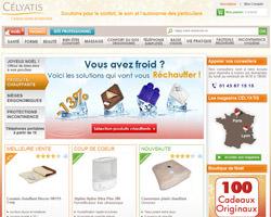 Page d'accueil de Célyatis