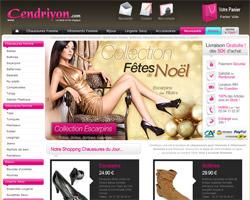 Page d'accueil de Cendriyon