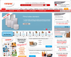 Page d'accueil de Cenpac