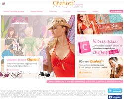Page d'accueil de Charlott'Lingerie