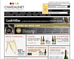 Page d'accueil de ChateauNET