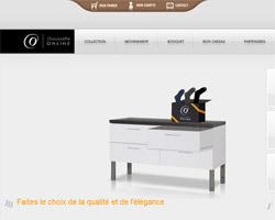 Page d'accueil de Chaussette On Line